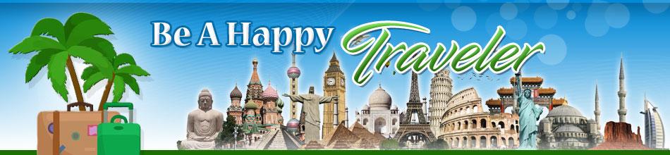 Be A Happy Traveler