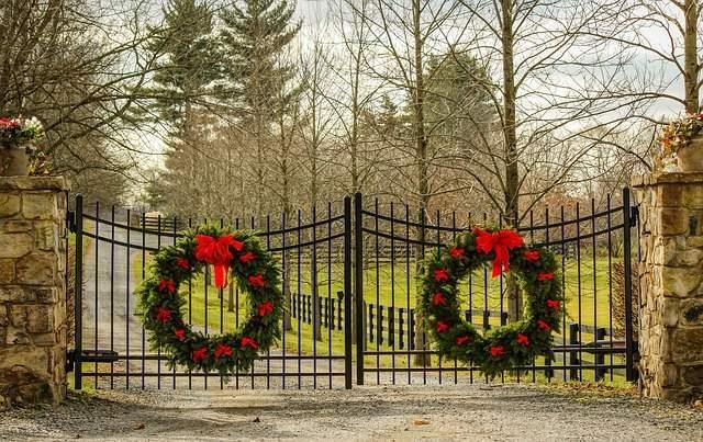 Wreaths on the Gates