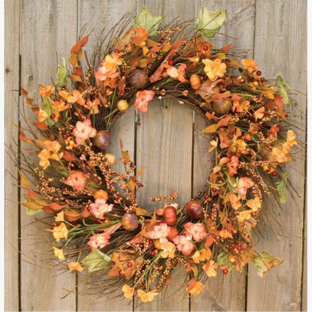 Harvest Garden Wreath