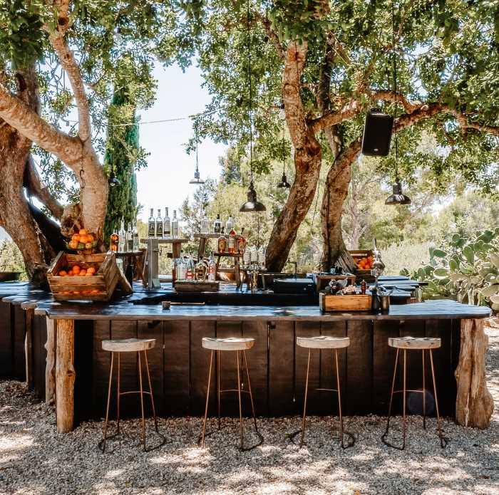 Backyard Patio Bar
